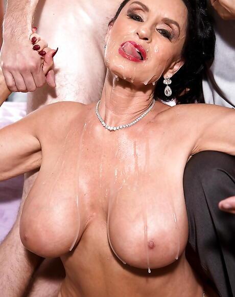 Free Cum On Tits Porn