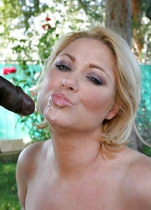 Free Huge Tits Interracial Porn